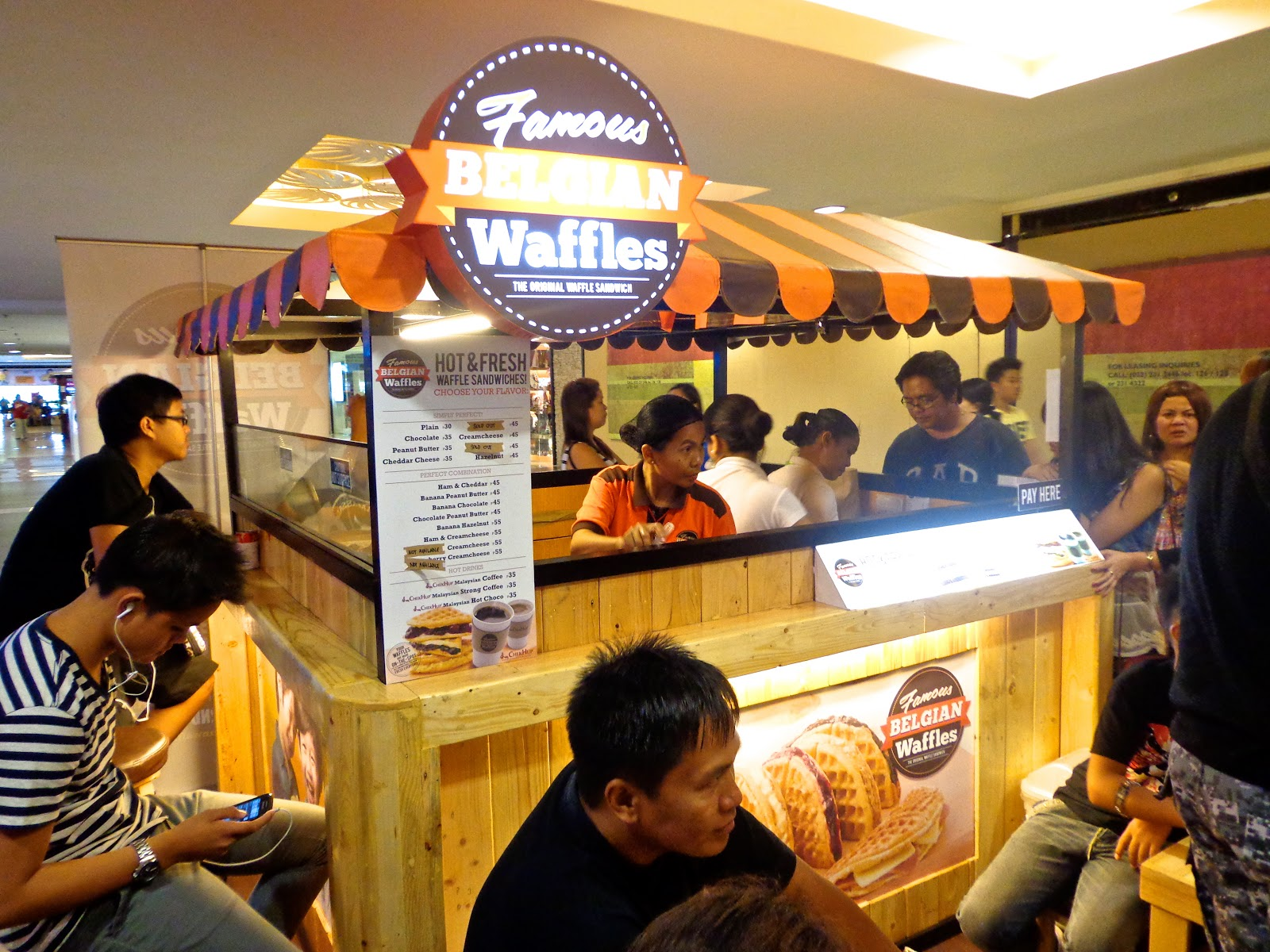 Perfect How To Franchise: Famous Belgian Waffles Food Cart Philippines ~  IFranchsie.ph