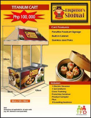 Emperor Siomai Food Cart Franchise