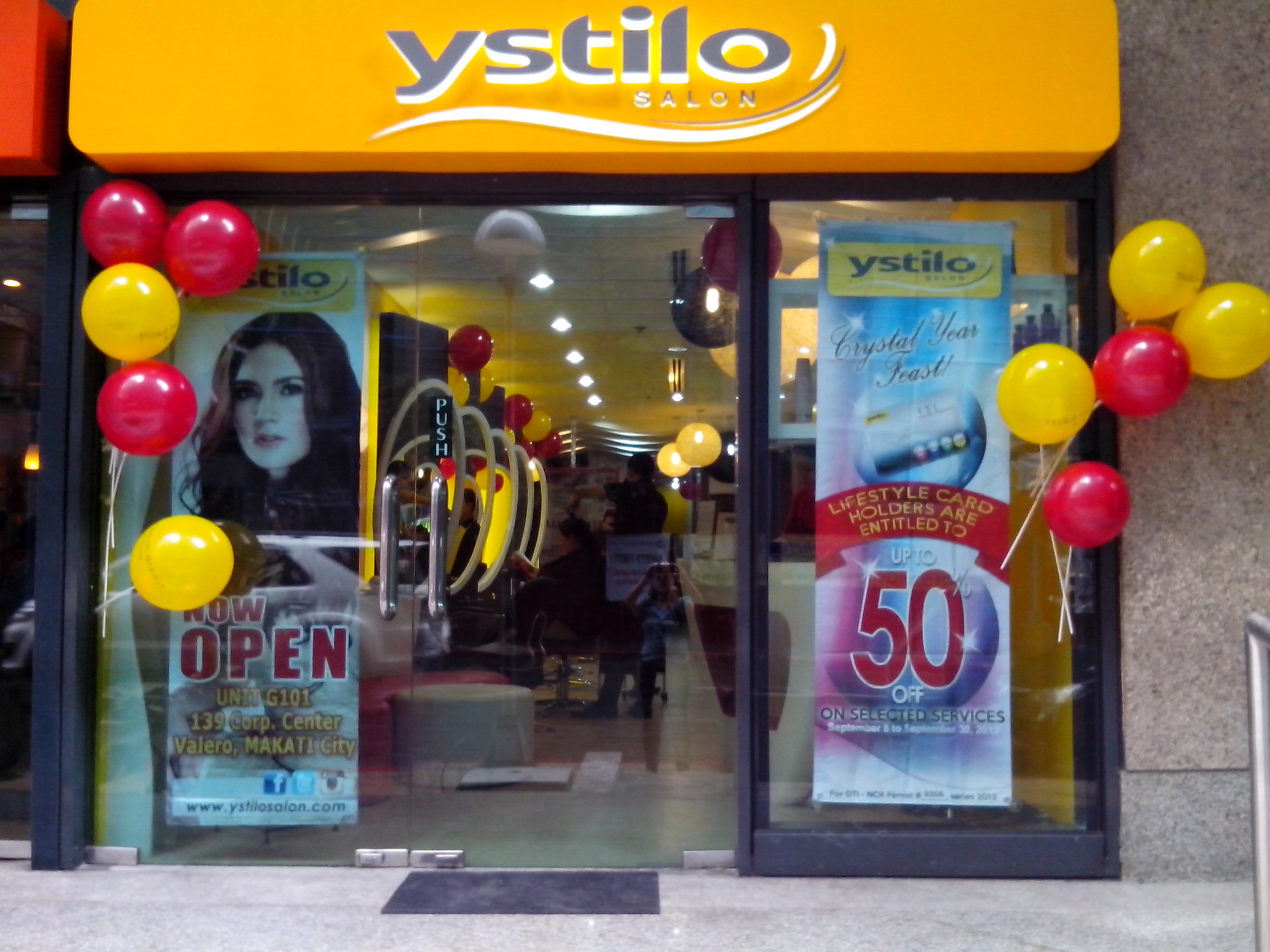 ystilo salon franchise: details, fees and how to ~ ifranchise.ph