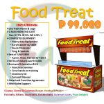 3-in-1 Food Carts: Food Treat and Cuisina Meals