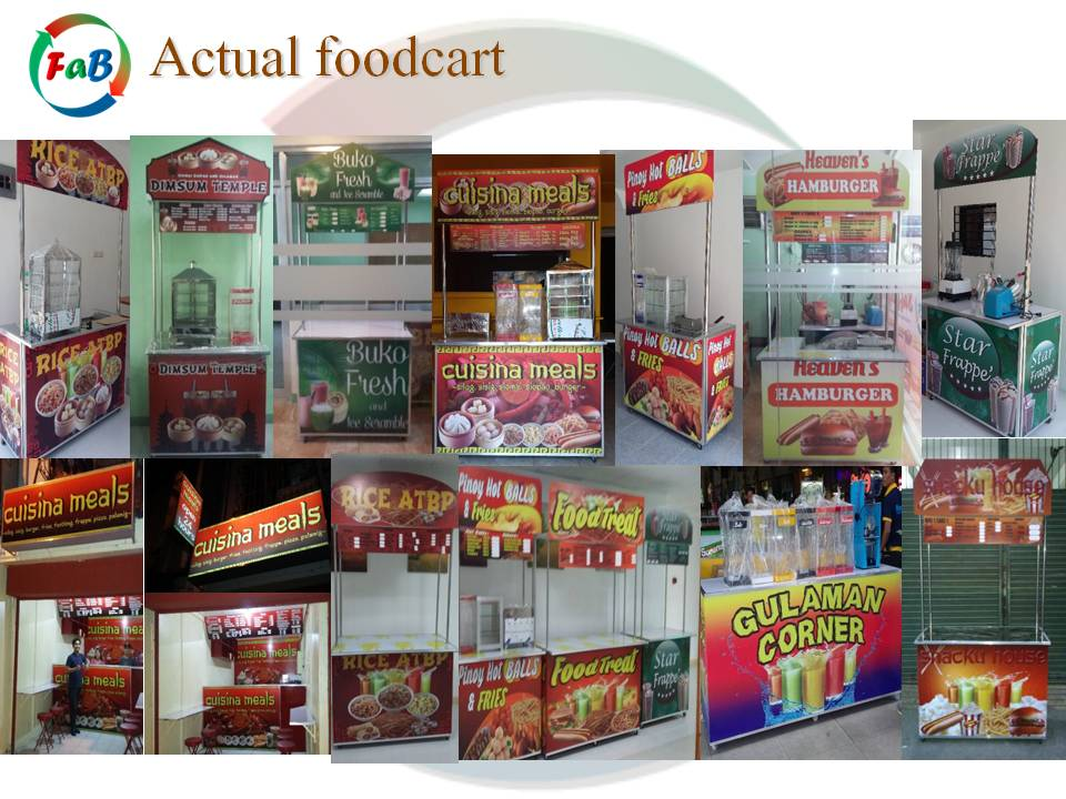Food Cart Franchise Business In Davao City