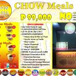 Chow Meals: Silog Rice Meals Food Cart