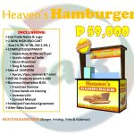 Heaven's Hamburger: Burger and Fries Food Cart