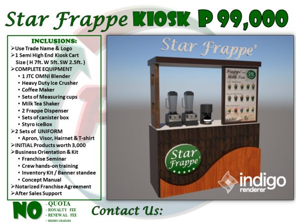 star frappe 99k package