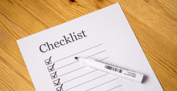 Checklist tips on how to write an effective cover letter