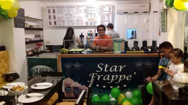 Star Frappe Bar as Alternative to Angel's Hamberger