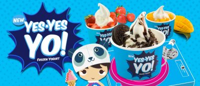 Yes Yes Yo Frozen Yogurt Franchise in the Philippines