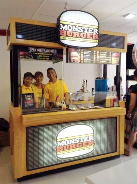 monster burger franchise