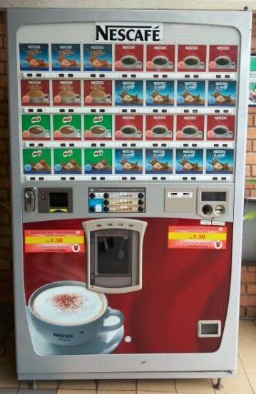 Nescafe Coffee Vending Machine Business