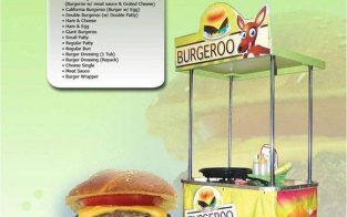 burgeroo food cart franchise