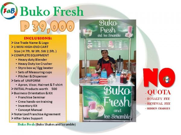 buko fresh 39k