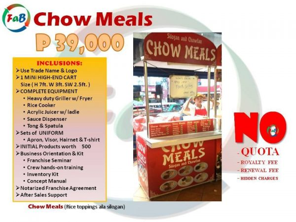 chow meals 39k