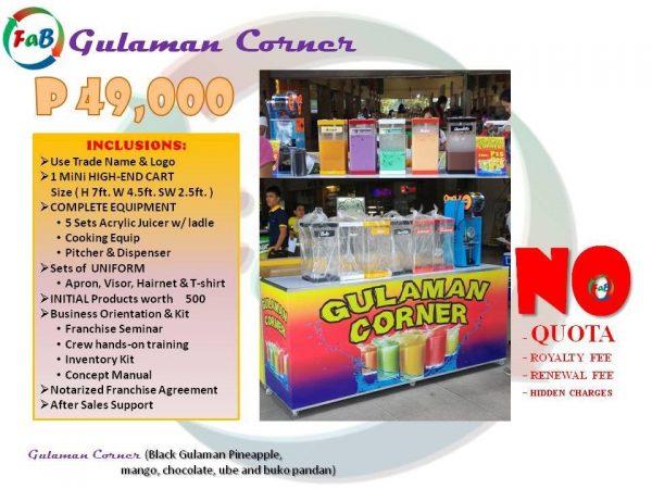 gulaman corner 49k