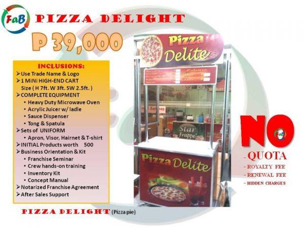 pizza delite 39k