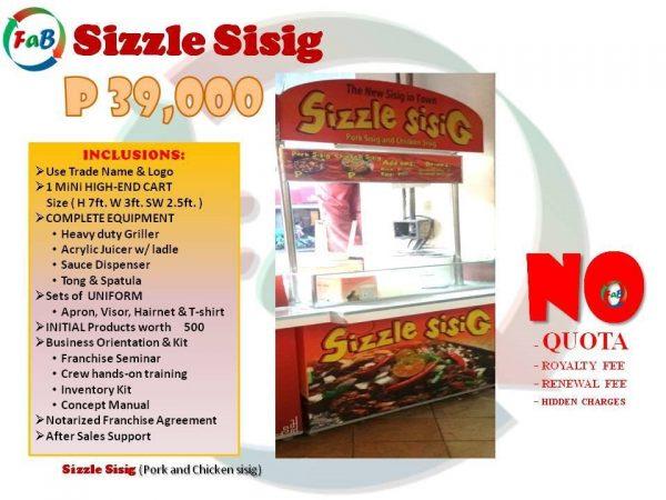 sizzle sisig 39k